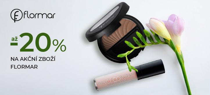 Slevy až -20% na akční zboží Flormar. Ceny na webu jsou včetně slev