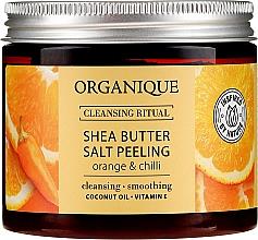 "Parfémy, Parfumerie, kosmetika Solný peeling ""Pomeranč a chilli"" - Organique Shea Butter Salt Peeling Orange & Chilli"