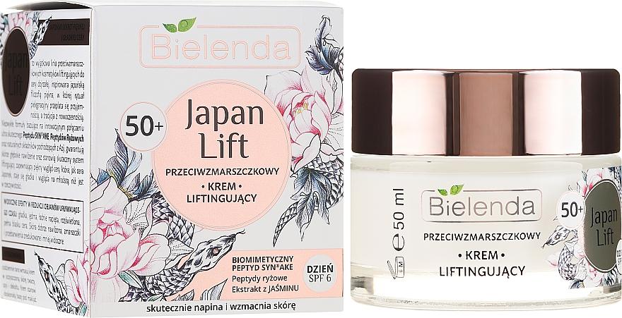 Denní krém proti vráskám s lifting efektem - Bielenda Japan Lift Day Cream 50+ SPF6