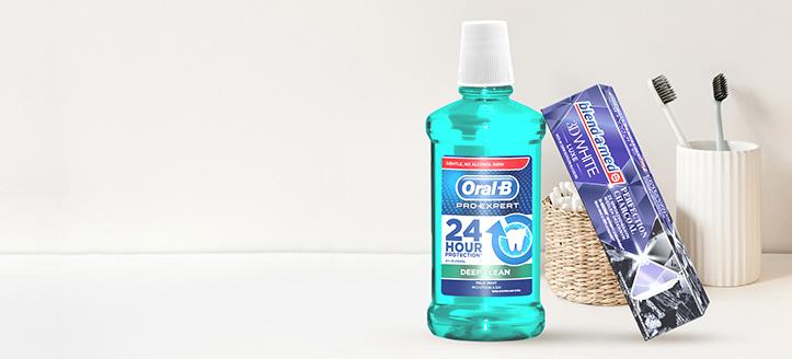 K nákupu produktů Blend-a-med, Blend-A-Dent a Oral-B v hodnotě nad 152 Kč získej zubní pastu jako dárek