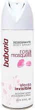Parfémy, Parfumerie, kosmetika Deodorant-sprej - Babaria Rose Hip Invisible Effect Deodorant Spray