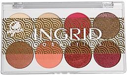 Parfémy, Parfumerie, kosmetika Paleta očních stínů - Ingrid Cosmetics Bali Eyeshadows Palette