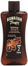 Parfémy, Parfumerie, kosmetika Lotion urychlovač opalování - Hawaiian Tropic Sun Tan Oil Intense SPF 2