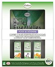 Parfémy, Parfumerie, kosmetika Sada esenciálních olejů Relax - Galeo To Help You Relax Gift Set (ess/oil/3x10ml)
