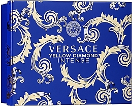 Parfémy, Parfumerie, kosmetika Versace Yellow Diamond Intense - Sada (edp/50ml + b/lot/50ml + sh/gel/50ml)