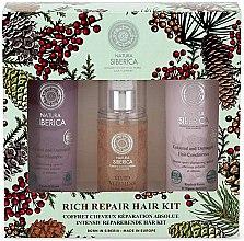 Parfémy, Parfumerie, kosmetika Sada - Natura Siberica Natural & Organic Rich Repair Hair Kit (shm/250ml + balm/250ml + gel/125ml)