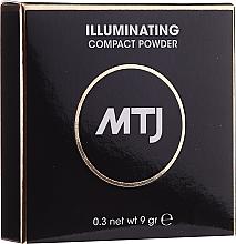 Parfémy, Parfumerie, kosmetika Zesvětlující pudr na obličej - MTJ Cosmetics Illuminating Compact Powder