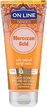 Parfémy, Parfumerie, kosmetika Tělový peeling - On Line Senses Body Scrub Moroccan Gold