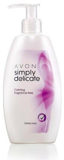 Uklidňující krémový gel pro intimní hygienu - Avon — foto N2