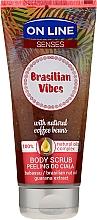 Parfémy, Parfumerie, kosmetika Scrub na tělo - On Line Senses Body Scrub Brasilian Vibes