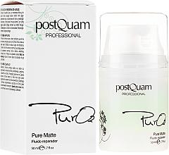 Parfémy, Parfumerie, kosmetika Obnovující fluid na obličej - PostQuam Pure 02 Matte Repair Fluid