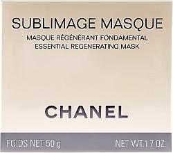 Základní regenerační maska - Chanel Sublimage Masque — foto N1