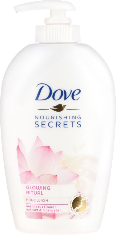 Tekuté mýdlo Lotus flower - Dove Nourishing Secrets Glowing Ritual Hand Wash