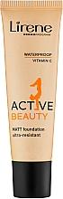 Parfémy, Parfumerie, kosmetika Tonální krém - Lirene Active Beauty Matt Foundation Ultra-Resistant
