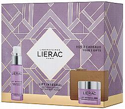 Parfémy, Parfumerie, kosmetika Sada - Lierac Lift Integral Nutri (f/cr/50ml + f/ser/30ml + pouch)
