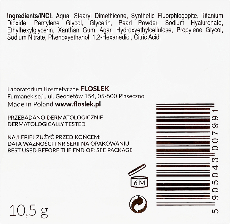 Krém ve sférách s kyselinou hyaluronovou - Floslek Skin Care Expert Sphere-3D Spherical Cream With Hyaluronic Acid — foto N3