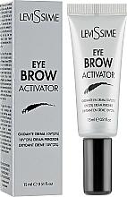 Parfémy, Parfumerie, kosmetika Oxidační činidlo pro barvu na obočí 3% - LeviSsime Eye Brow Activator