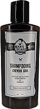 Parfémy, Parfumerie, kosmetika Tónovací šampon se stříbrným pigmentem - Man'S Beard Shampooing Cheveux Gris Sans Sulfates