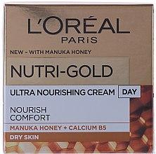 Parfémy, Parfumerie, kosmetika Hydratační denní krém na obličej - L'Oreal Paris Nutri Gold Day Cream