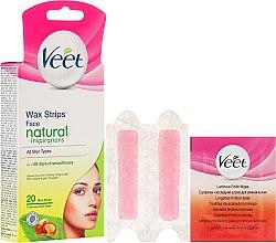 Parfémy, Parfumerie, kosmetika Voskové pásky s arganovým olejem na obličej - Veet Natural Inspirations Face Wax Strips