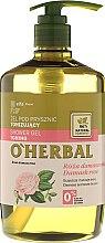 Parfémy, Parfumerie, kosmetika Tonizující sprchový gel s extraktem z damaškové růže - O'Herbal Toning Shower Gel