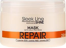Parfémy, Parfumerie, kosmetika Maska na vlasy - Stapiz Sleek Line Repair Hair Mask