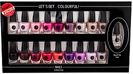 Parfémy, Parfumerie, kosmetika Sada - Cosmetic 2K Let'S Get Colourful! (nail/laquer/19x3,5ml)