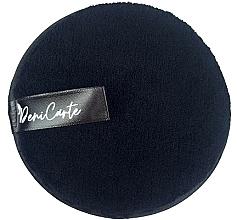 Parfémy, Parfumerie, kosmetika Čisticí houbička, černá - Deni Carte Face Wash Microfiber Black