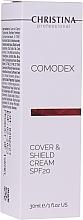 Parfémy, Parfumerie, kosmetika Ochranný krém na obličej s tónovacím efektem - Christina Comodex Cover & Shield Cream SPF20