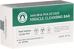 Parfémy, Parfumerie, kosmetika Mýdlo na obličej - Some By Mi AHA/BHA/PHA 30 Days Miracle Cleansing Bar
