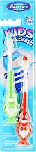 Parfémy, Parfumerie, kosmetika Sada zubních kartáčků, 3-6 let, tučňák, zelený a červený - Beauty Formulas Kids Quick Brush