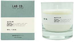 Parfémy, Parfumerie, kosmetika Aromatická svíčka - Ambientair Lab Co. Myrtle