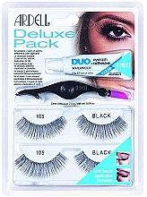 Parfémy, Parfumerie, kosmetika Sada umělých řas - Ardell Eyelash 105 Deluxe Kit Black