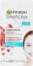 Parfémy, Parfumerie, kosmetika Hydratační pleťová maska Aqua Mask - Garnier SkinActive Aqua Mask