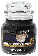 Parfémy, Parfumerie, kosmetika Aromatická svíčka Letní noc - Yankee Candle Midsummer's Night