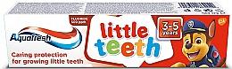 Parfémy, Parfumerie, kosmetika Zubní pasta Little teeth - Aquafresh Kids PAW Patrol
