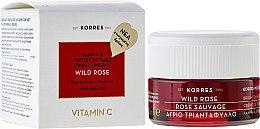 Parfémy, Parfumerie, kosmetika Krém na obličej, denní kůže pro normální a kombinovanou pleť - Korres Wild Rose Brightening & First Wrinkles Day Cream