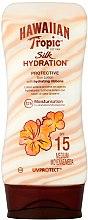 Parfémy, Parfumerie, kosmetika Opalovací krém pro tělo - Hawaiian Tropic Silk Hydration Sun Lotion SPF 15