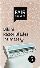 Parfémy, Parfumerie, kosmetika Náhradní holicí kazety - Fair Squared Bikini Razor Blades