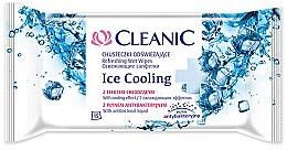 Parfémy, Parfumerie, kosmetika Osvěžující ubrousky, 15ks - Cleanic Ice Cooling Wipes