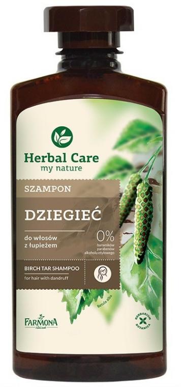 """Šampon na vlasy """"Březově dehtový"""" - Farmona Herbal Care Shampoo"""