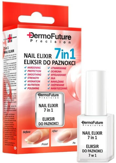 Výživný elixír na nehty 7v1 - Dermofuture Precision Nail Elixir 7in1