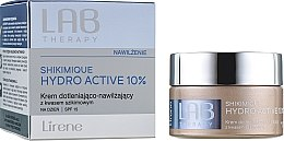 Parfémy, Parfumerie, kosmetika Kyslíkový hydratační denní krém na obličej - Lirene Lab Therapy Moisture Shikimique Hydro Active 10% Cream SPF15
