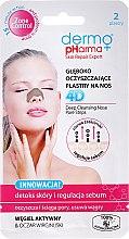 Parfémy, Parfumerie, kosmetika Čistící náplast na nos na černé tečky a akné - Dermo Pharma Patch