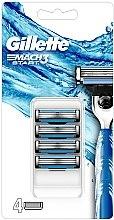 Parfémy, Parfumerie, kosmetika Náhradní kazety na holení - Gillette Mach3 Start Razor Blades