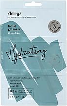 Parfémy, Parfumerie, kosmetika Hydratační gelová pleťová maska - Kili-g Hydrating Face Mask