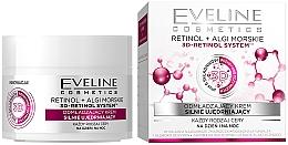 "Parfémy, Parfumerie, kosmetika Omlazující krém ""Intenzivní lifting"" pro všechny typy pleti - Eveline Cosmetics Retinol+Sea Algae Intensely Firming Rejuvenating Cream"