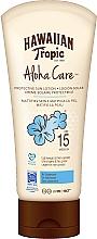 Parfémy, Parfumerie, kosmetika Opalovací tělový lotion - Hawaiian Tropic Aloha Care Protective Sun Lotion Mattifies Skin SPF 15