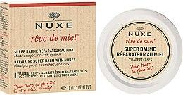 Parfémy, Parfumerie, kosmetika Obnovující balzám s medem na obličej a tělo - Nuxe Rêve de Miel Repairing Super Balm With Honey