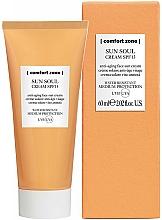 Parfémy, Parfumerie, kosmetika Opalovací krém na obličej - Comfort Zone Sun Soul Face Cream SPF 15